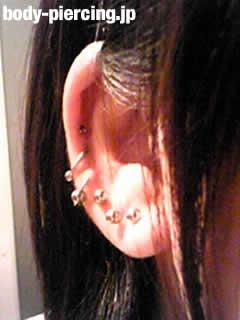 カリメロさんの右耳のボディピアス写真 No.2